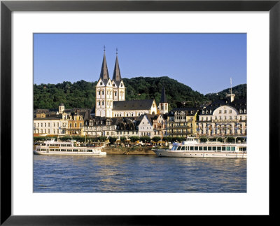 Boppard, Rhineland Palatinate, Germany by Gavin Hellier Pricing Limited Edition Print image