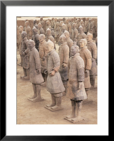 From The 2000 Year Old Army Of Terracotta Warriors, Xian, Shaanxi Province, China by Gavin Hellier Pricing Limited Edition Print image