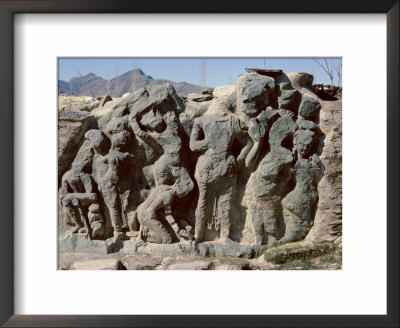 Butkara Ruins, Swat Valley, North West Frontier Province, Pakistan, Asia by Robert Harding Pricing Limited Edition Print image