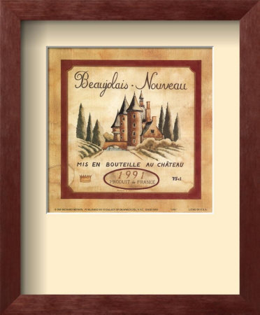 Beaujolais Nouveau, 1991 by Richard Henson Pricing Limited Edition Print image
