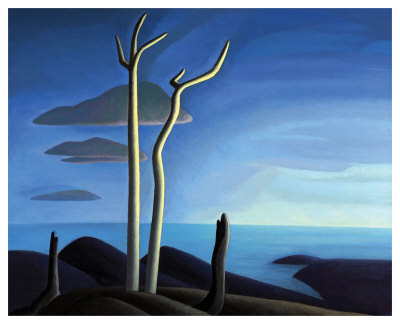 Lake Superior by Lawren S. Harris Pricing Limited Edition Print image