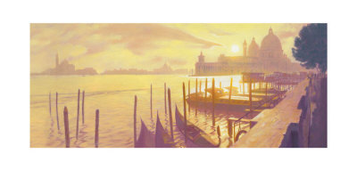 Late Afternoon, Bacino Di San Marco by Mark Harrison Pricing Limited Edition Print image