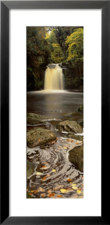 Waterfall In A Forest, Thomason Foss, Goathland, North Yorkshire, England, United Kingdom by Panoramic Images Pricing Limited Edition Print image