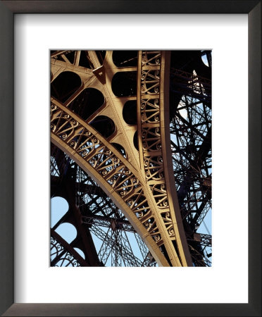 Eiffel Tower Architectural Detail, Paris, Ile-De-France, France by Richard I'anson Pricing Limited Edition Print image