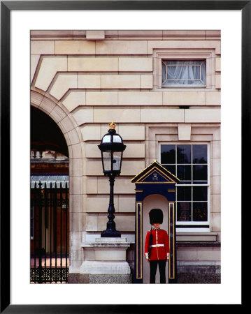 Guard At Buckingham Palace, London, England by Richard I'anson Pricing Limited Edition Print image