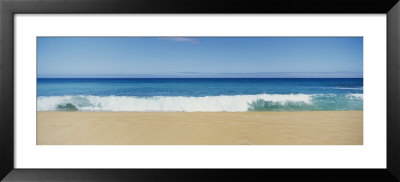 Waves Crashing On The Beach, Oahu, Hawaii, Usa by Panoramic Images Pricing Limited Edition Print image