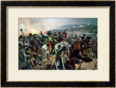 Battle Of Balaclava, 25Th October 1854, Relief Of The Light Brigade (Colour Print) by Richard Caton Woodville Ii Pricing Limited Edition Print image
