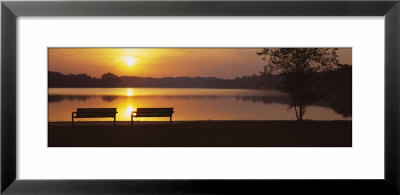 Reeds Lake, Grand Rapids, Michigan, Usa by Panoramic Images Pricing Limited Edition Print image