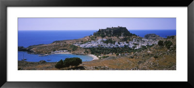 Acropolis, Lindos, Rhodes, Greece by Panoramic Images Pricing Limited Edition Print image