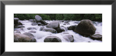 Rocks In Little Susitna River, Hatcher Pass Road, Alaska, Usa by Panoramic Images Pricing Limited Edition Print image