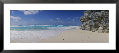 Rock Formation On The Coast, Cancun, Quintana Roo, Mexico by Panoramic Images Pricing Limited Edition Print image