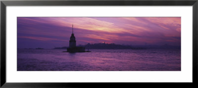 Leander's Tower And Blue Mosque, Istanbul, Turkey by Panoramic Images Pricing Limited Edition Print image