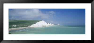 Cliff At The Coast, Seven Sisters, East Sussex, England by Panoramic Images Pricing Limited Edition Print image