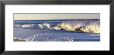Waves Washing Up On A Beach by Panoramic Images Pricing Limited Edition Print image