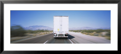 Semi-Truck On A Highway by Panoramic Images Pricing Limited Edition Print image