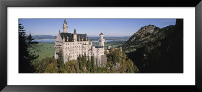 Castle On A Mountain, Bavaria, Germany by Panoramic Images Pricing Limited Edition Print image