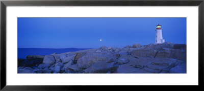 Lighthouse On The Coast, Peggy's Cove Lighthouse, Nova Scotia, Canada by Panoramic Images Pricing Limited Edition Print image