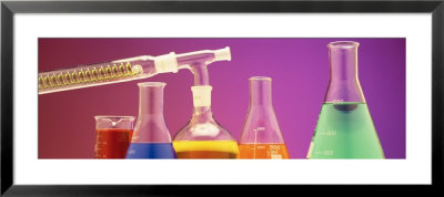Laboratory Glassware by Panoramic Images Pricing Limited Edition Print image