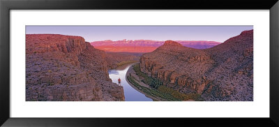 River Running Through Rocks, Rio Grande, Big Bend National Park, Texas, Usa by Panoramic Images Pricing Limited Edition Print image
