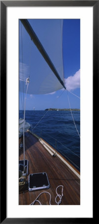 Sailboat Racing In The Sea, Grenada by Panoramic Images Pricing Limited Edition Print image