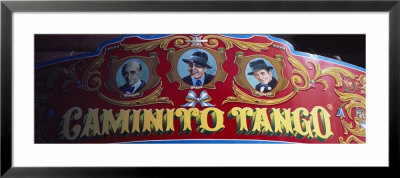 Close-Up Of A Sign Board, La Boca, Buenos Aires, Argentina by Panoramic Images Pricing Limited Edition Print image