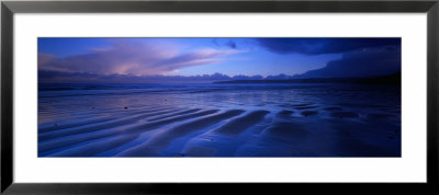 Sand Ridges Near A Bay, Filey Bay, Yorkshire, England, United Kingdom by Panoramic Images Pricing Limited Edition Print image