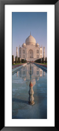 Facade Of A Building, Taj Mahal, Agra, Uttar Pradesh, India by Panoramic Images Pricing Limited Edition Print image