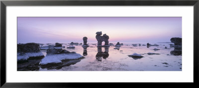 Rocks On The Beach, Faro, Gotland, Sweden by Panoramic Images Pricing Limited Edition Print image