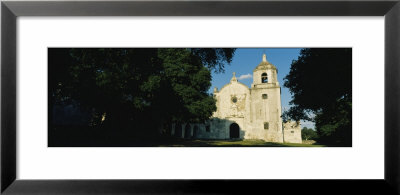 Facade Of A Church, Mission Espiritu, Goliad State Historical Park, Goliad, Texas, Usa by Panoramic Images Pricing Limited Edition Print image