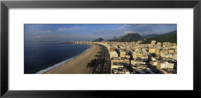 High Angle View Of The Beach, Copacabana Beach, Rio De Janeiro, Brazil by Panoramic Images Pricing Limited Edition Print image