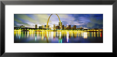 Evening, St. Louis, Missouri, Usa by Panoramic Images Pricing Limited Edition Print image