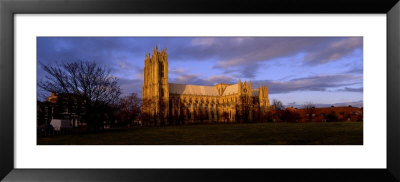 Facade Of Cathedral, Beverley Minster, Beverley, Yorkshire, England, United Kingdom by Panoramic Images Pricing Limited Edition Print image