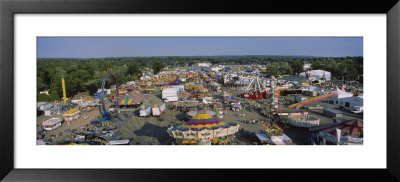 A Carnival, Erie County Fair And Exposition, Erie County, Hamburg, New York State, Usa by Panoramic Images Pricing Limited Edition Print image
