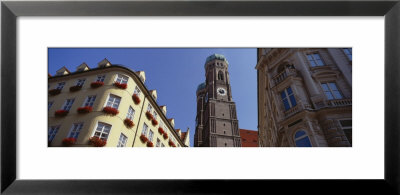 Low Angle View Of A Cathedral, Frauenkirche, Munich, Germany by Panoramic Images Pricing Limited Edition Print image