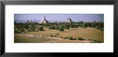 Shwesandaw Pagoda, Thatbyinnyu Temple, Bagan, Myanmar by Panoramic Images Pricing Limited Edition Print image