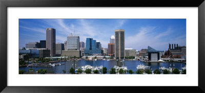 Inner Harbor, Baltimore, Maryland, Usa by Panoramic Images Pricing Limited Edition Print image