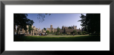 Christ Church College, Oxford, England, United Kingdom by Panoramic Images Pricing Limited Edition Print image
