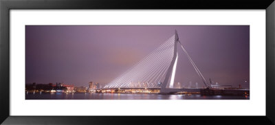 Erasmus Bridge, Rotterdam, Holland, Netherlands by Panoramic Images Pricing Limited Edition Print image