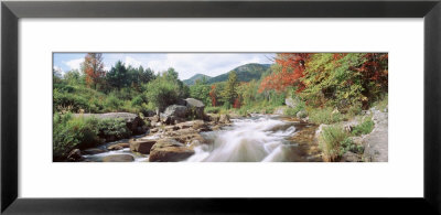 River Flowing Through Rocks, Ausable River, Wilmington, New York State, Usa by Panoramic Images Pricing Limited Edition Print image