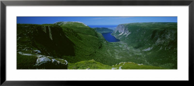 High Angle View Of A Plateau, Gros Morne National Park, Newfoundland And Labrador, Canada by Panoramic Images Pricing Limited Edition Print image