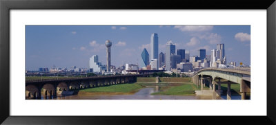 Office Buildings In A City, Dallas, Texas, Usa by Panoramic Images Pricing Limited Edition Print image