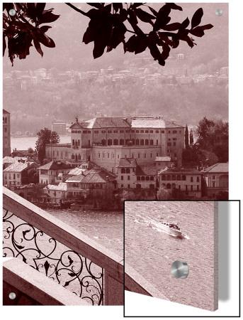San Giulio Island, Lago Dorta, Italy by I.W. Pricing Limited Edition Print image