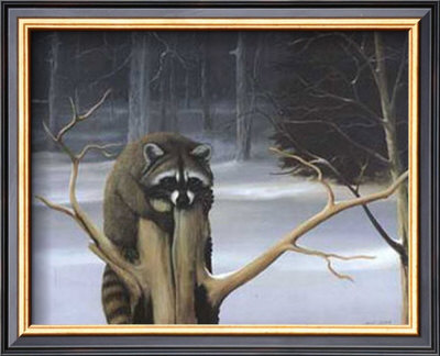Mischief On A Stump by David Jean Pricing Limited Edition Print image