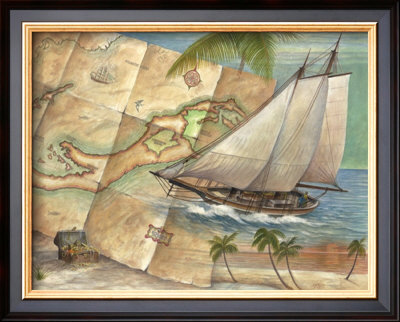 West Indies Schooner by Ron Jenkins Pricing Limited Edition Print image