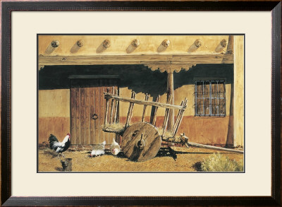 Cart And Adobe by Reginald Jones Pricing Limited Edition Print image