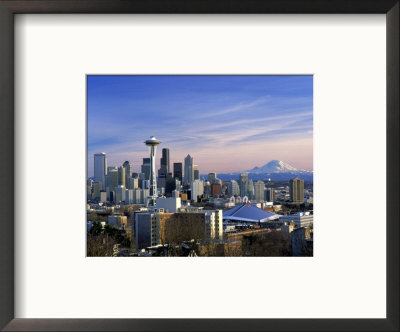 Seattle, Washington by George White Jr. Pricing Limited Edition Print image