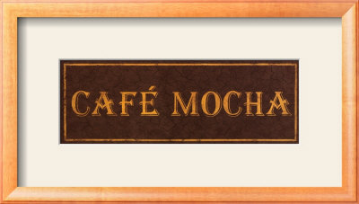 Cafe Mocha by Catherine Jones Pricing Limited Edition Print image
