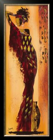 Femme Gazelle I by Johanna Pricing Limited Edition Print image