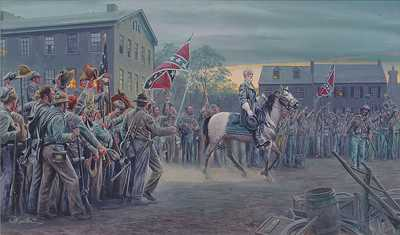 Twilight In Gettysburg by Mort Kunstler Pricing Limited Edition Print image