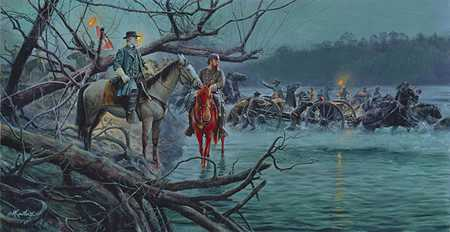 Night Crossing by Mort Kunstler Pricing Limited Edition Print image